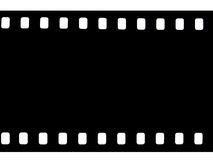 Camera film. 35 mm camera film isolated on white Stock Photo