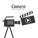 Camera film design. Vector illustration eps10 graphic Royalty Free Stock Image