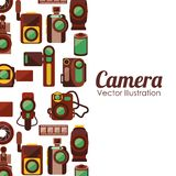 Camera film design. Vector illustration eps10 graphic Royalty Free Stock Photography