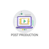 Camera Film Post Production Industry Icon. Vector Illustration Stock Image