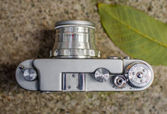 Camera. Film recorder of taking pictures Royalty Free Stock Photos