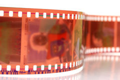 Camera film strip Stock Image
