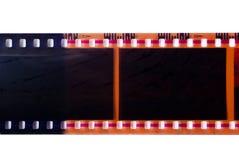 Camera film. Camera film strip isolated on white Royalty Free Stock Photo