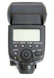 Camera flash. Isolated on white background Stock Image