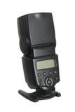 Camera flash. Isolated on white background Royalty Free Stock Images