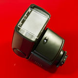 Flashgun. A closeup of a camera flashgun Royalty Free Stock Image