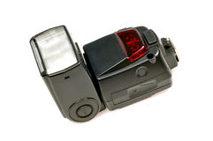 Camera flash stock image
