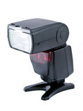 Camera flash speedlight Royalty Free Stock Photo