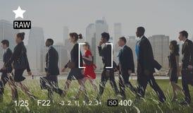 Camera Focus Capture Memories Photography Preview Concept Stock Photography