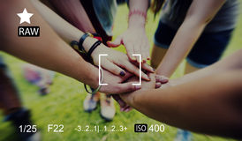 Camera Focus Capture Memories Photography Preview Concept Royalty Free Stock Photo