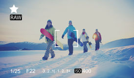 Camera Focus Capture Memories Photography Preview Concept Royalty Free Stock Images