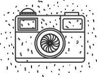 Camera fotografisch ge?soleerd pictogram vector illustratie
