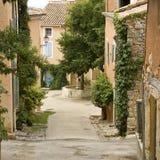 Camera francese del villaggio. La Provenza Fotografie Stock Libere da Diritti