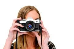 Camera friendly Royalty Free Stock Image