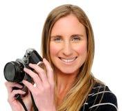 Camera friendly Stock Photo