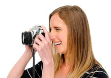 Camera friendly Royalty Free Stock Photo