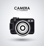 Camera gadget. Camera concept with gadget icon design, vector illustration 10 eps graphic Stock Images