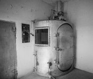 Camera a gas, Rawlins, WY Fotografie Stock Libere da Diritti