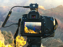 Camera Grand Canyon Royalty Free Stock Photos