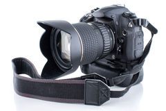 Camera with grip Stock Image