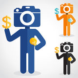 Camera head Stock Photography