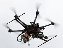 Camera-helicopter Royalty Free Stock Photo