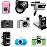 Camera icon Stock Image