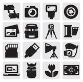 Camera icon royalty free illustration