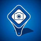 Camera Icon Design Royalty Free Stock Images
