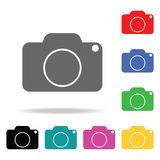 Camera Icon. Elements in multi colored icons for mobile concept and web apps. Icons for website design and development, app develo. Pment on white background royalty free illustration