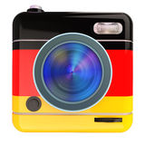 Camera icon German Stock Photography