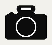 Camera icon illustrated Royalty Free Stock Image