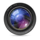 Camera icon lens Royalty Free Stock Photos