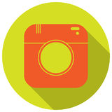 Camera icon Royalty Free Stock Photo