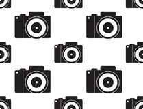Camera icon Vector Illustration. Flat Sign Seamless on White Background. Camera icon Vector Illustration. Flat Sign Seamless on White Background stock illustration