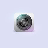 Camera icon. Vector illustration. Royalty Free Stock Image