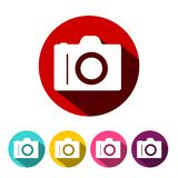 Camera Icon Vector Photographic Equipment Symbol. Camera Icon. Vector Photographic Equipment Symbol vector illustration