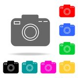 Camera icons. Elements of human web colored icons. Premium quality graphic design icon. Simple icon for websites, web design, mobi. Le app, info graphics on vector illustration