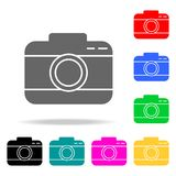 Camera icons. Elements of human web colored icons. Premium quality graphic design icon. Simple icon for websites, web design, mobi. Le app, info graphics on stock illustration