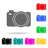 Camera icons. Elements of human web colored icons. Premium quality graphic design icon. Simple icon for websites, web design, mobi. Le app, info graphics on royalty free illustration