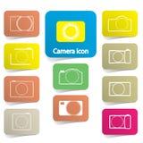 Camera icons Royalty Free Stock Photo
