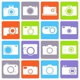 Camera icons set. Photo camera icon set. eps10  illustration Stock Photo