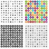 100 camera icons set vector variant. 100 camera icons set vector in 4 variant for any web design isolated on white royalty free illustration