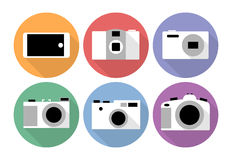 Camera icons Stock Image