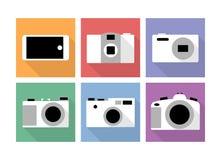 Camera icons Royalty Free Stock Photography