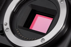 Camera image sensor Royalty Free Stock Photos
