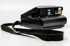 Camera Instant Film Polaroid type with lanyard Royalty Free Stock Photos