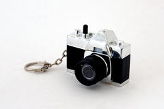 Camera key chain Royalty Free Stock Image