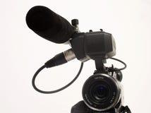 Camera with lence Royalty Free Stock Photos