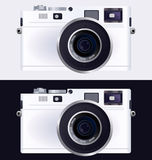 Camera, the lens. Vector icon illustration of the camera, the lens Royalty Free Stock Photos